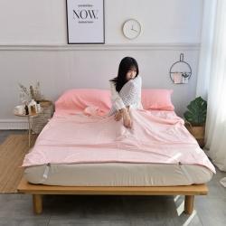 (总)西西家居 2021新款日系色织纯棉水洗棉隔脏睡袋