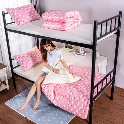 (总)美真宝贝 大学生上下铺宿舍床三件套多件套被芯床垫