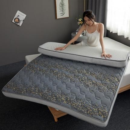 钻爱床垫 2021新款升级款乳胶记忆棉床垫 梦幻方格