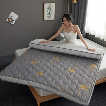 钻爱床垫 2021新款升级款乳胶记忆棉床垫 金色叶子