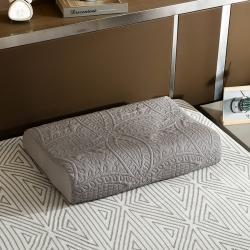 (总)豪选家纺 2020新款纯色乳胶枕套一对装