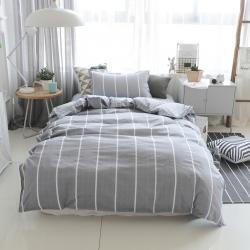 (总)2021贝兰仙奴全棉全棉三件套宿舍上下铺床上用品