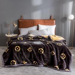 (总)绒朵 2021新款拉舍尔毛毯