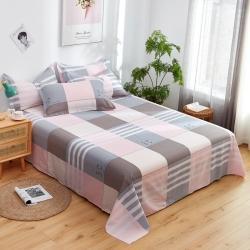 (总)卓越家纺 2021新款128*68全棉印花斜纹单床单