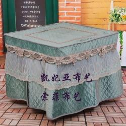 凯妃亚 2020新款烤火罩(电炉罩)80*80cm 纯真年代-绿