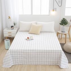 宇淳国际2020新品 芦荟棉四件套系列单品床单 一米阳光
