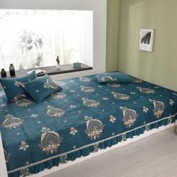 (总)水晶绒榻榻米床盖炕单夹棉床单炕盖花色更新到4月10日