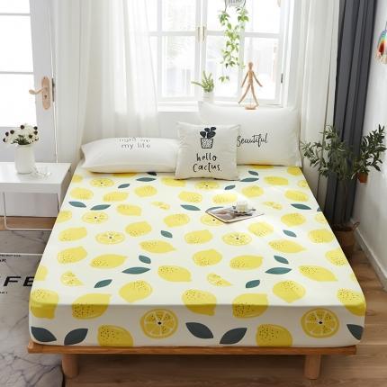 (总)芭比蔓 2020新款针织牛奶丝弹力单床笠