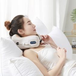 (总)昕科2020多功能充电款护颈按摩震动记忆棉U型枕