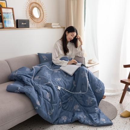 (总)暖树家居 2020新款优舒绒多功能抱枕被