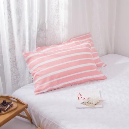 澳玛尼   2020新款ins全棉枕套一对 悦颜
