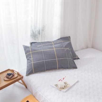 澳玛尼   2020新款ins全棉枕套一对 自由国度