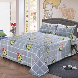 赋雅家纺 双面绒毯子超柔加厚云貂绒毛毯法莱绒毛毯 床单盖毯 欢欣雀跃
