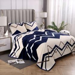 赋雅家纺 双面绒毯子超柔加厚云貂绒毛毯法莱绒毛毯 床单盖毯 流光溢彩