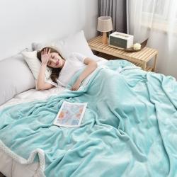 (总)京宇毯业 2021新款加厚双面牛奶绒毛毯