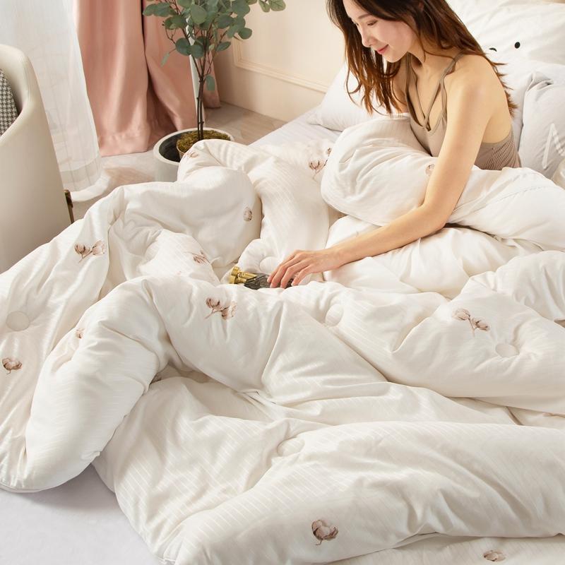 卡诗兰顿2020新款立体棉花被冬被被芯 梦回江南