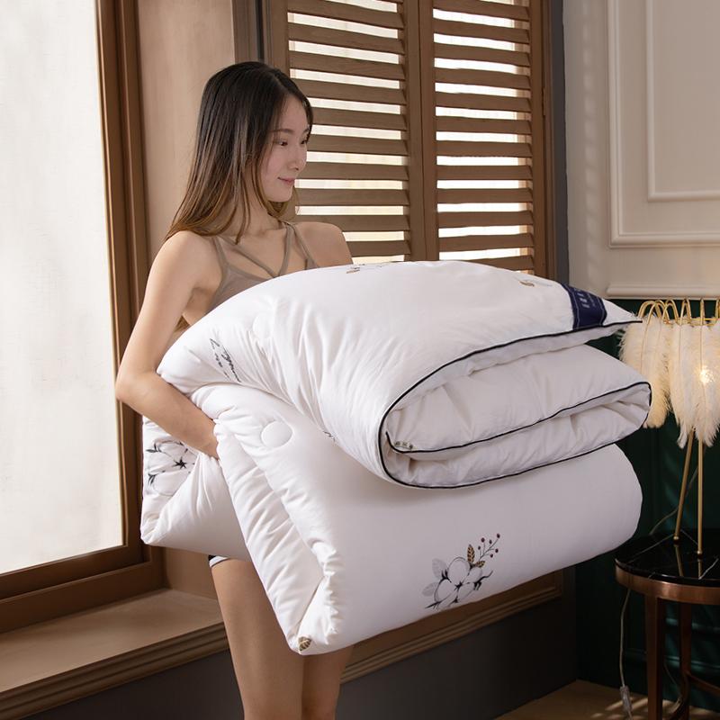 卡诗兰顿2020新款60S全棉新疆棉花被被芯冬被 棉花情缘