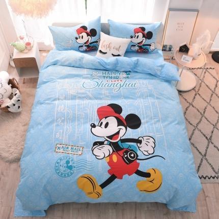 迪士尼家居馆2020全棉环保13070四件套 MU-1305