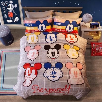 迪士尼家居馆 2020新款全棉数码印花四件套 0767