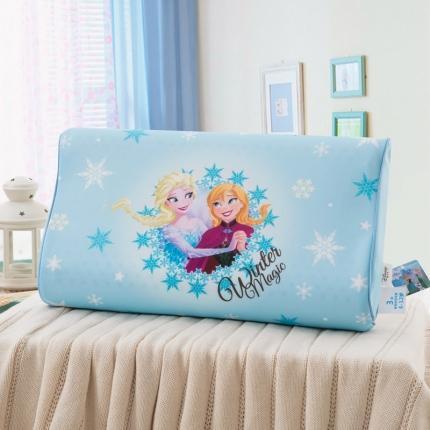 迪士尼 2020新款冰丝款乳胶枕牵手姐妹