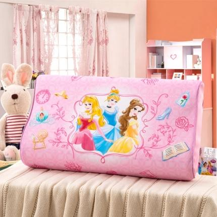 迪士尼 2020新款冰丝款乳胶枕三公主
