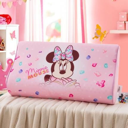 迪士尼 2020新款冰丝款乳胶枕时尚米妮