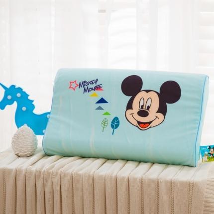 迪士尼 2020新款宝宝绒面料乳胶枕经典米奇