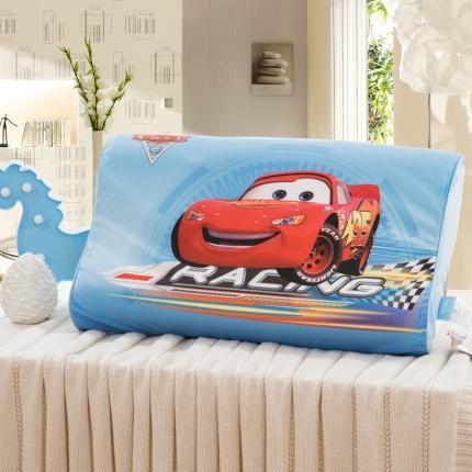 迪士尼 2020新款宝宝绒面料乳胶枕帅气麦昆