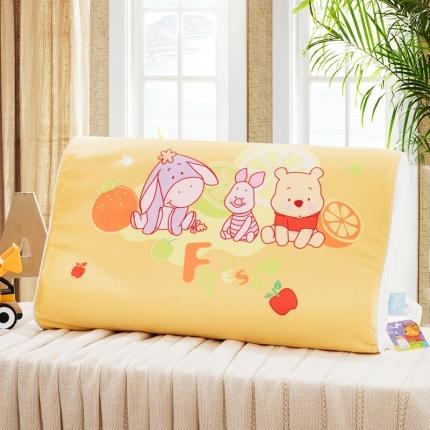 迪士尼 2020新款宝宝绒面料乳胶枕维尼伙伴