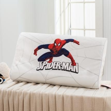 迪士尼 2020新款宝宝绒面料乳胶枕蜘蛛侠