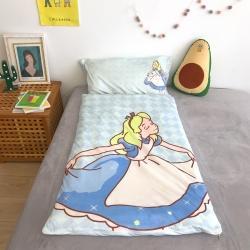 妙芙 2020新款豆豆毯神奇儿童睡袋(75*155) 公主