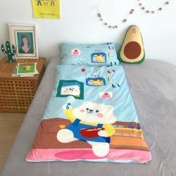 妙芙 2020新款豆豆毯神奇儿童睡袋(75*155)可爱小熊