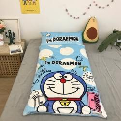妙芙 2020新款豆豆毯神奇儿童睡袋(75*155) 蓝胖子
