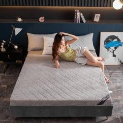 (总)西域种棉人 2020新款6cm硬质棉羊羔绒床垫