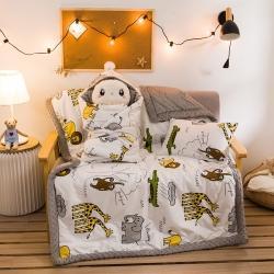 (总)梦幻岛 2021新款豆豆毯系列秋冬婴儿豆豆绒抱被