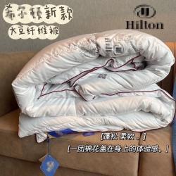 (总)启昂 2020新款微商爆款酒店6斤大豆纤维冬被被芯