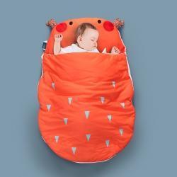(总)小芽家居 2020新款亲肤针织棉宝宝睡袋
