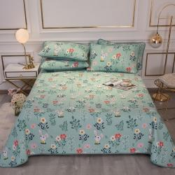 (总)莎果 2021新款全棉床盖三件套
