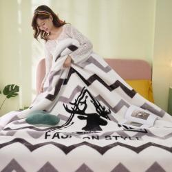 2020年新款超柔拉舍尔毛毯