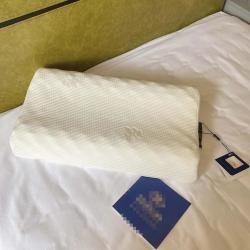 希尔顿乳胶枕纯天然乳胶枕头枕芯一对(一对)