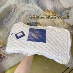 微商爆款希尔顿乳胶枕纯天然乳胶枕头枕芯一只(单个)