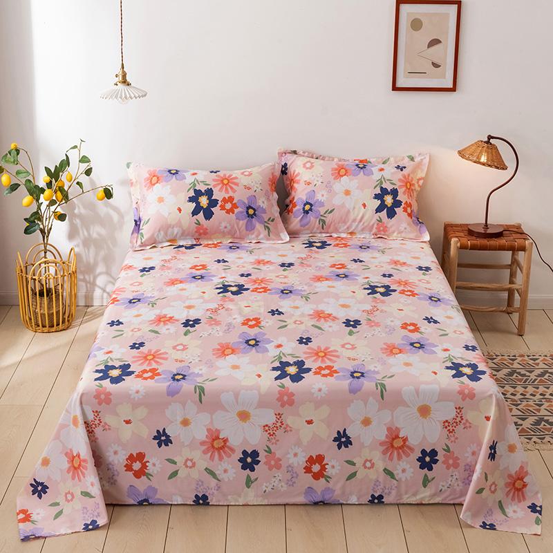 大柏树 13372全棉纯棉单件单双人单床单定做定制 卓琳