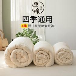 日式无印不染A类原棉大豆被全棉良品纯棉酒店被芯无荧光冬被四季