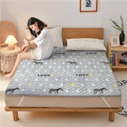 法莱绒牛奶绒床护垫可水洗床垫保暖薄床褥学生榻榻米垫子