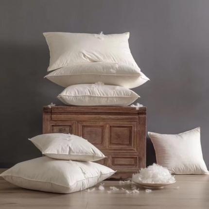 (总)子和 2020新款全棉白鹅毛枕,靠枕