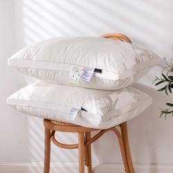 新款全棉羽丝绒枕芯  天然棉花羽丝绒 枕芯枕头