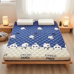 爱喔家纺 2020新款羊羔绒加厚保暖床垫 羊羔绒熊猫