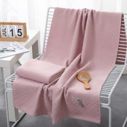 (总)心云家纺 2021新款水母浴巾(70*140 )