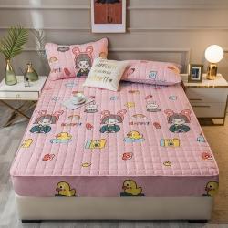 (总)优眠坊 2021新款磨毛夹棉床笠