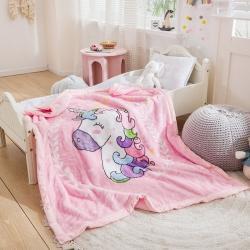 (总)2021新款大版卡通拉舍尔儿童毛毯婴儿毯子云毯童毯